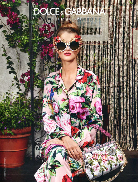 2016 DOLCE & GABBANA singlasses :Spain (Vogue)