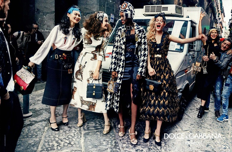 2016 DOLCE & GABBANA fall-winter 2016 Spain (spread Elle) ¡#Napoli'