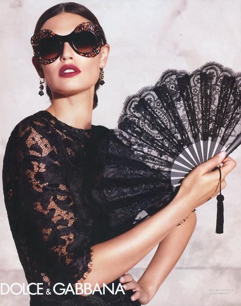 2015 DOLCE & GABBANA sunglasses Spain (Harper's Bazaar)