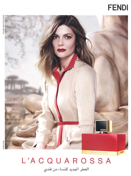 2013 FENDI Acquarossa fragrance United Arab Emirates (Sayidaty)