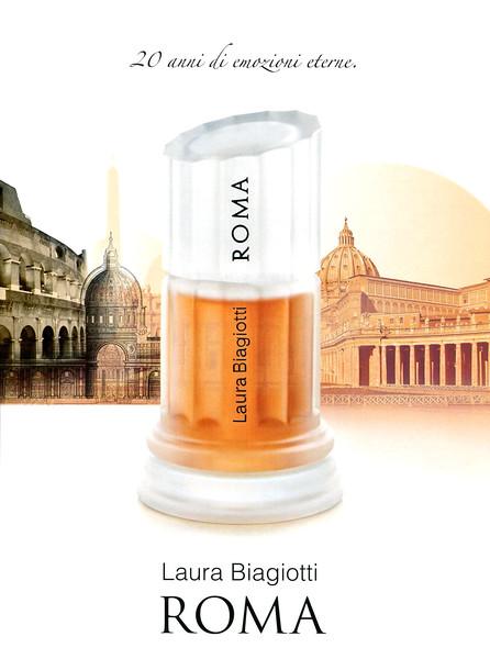 2008 LAURA BIAGIOTTI Roma fragrance Italy