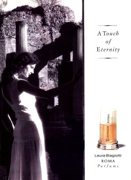 1991 LAURA BIAGIOTTI Roma fragrance Belgium