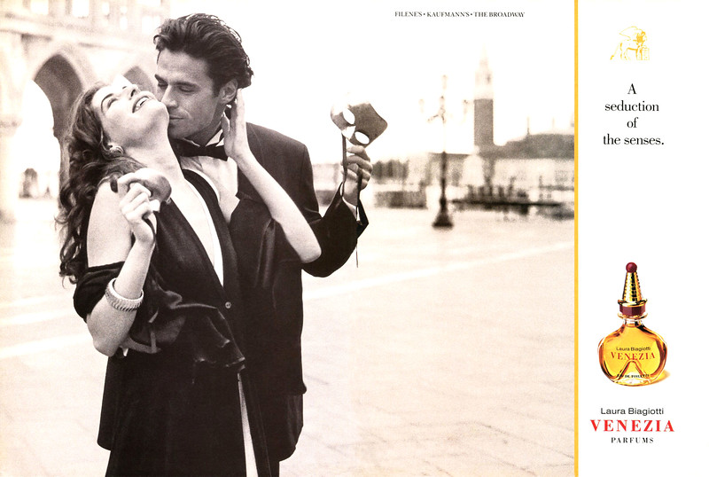 1993 LAURA BIAGIOTTI Venezia fragrance US spread