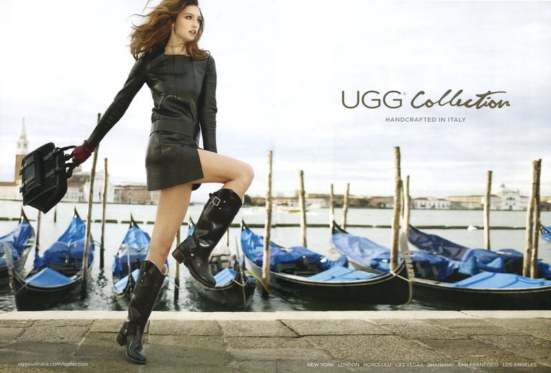 2011 UGG Collection footwear US (Spread Harper's Bazaar)