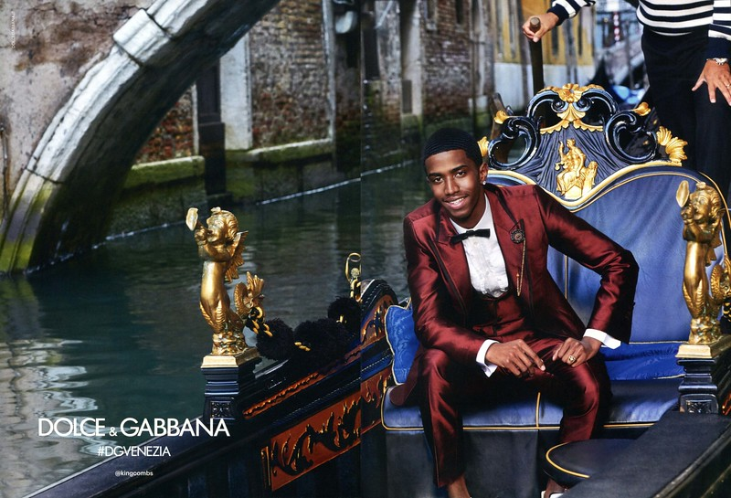 2018 DOLCE & GABBANA Spring-Summer menswearv Spain (spread GQ)