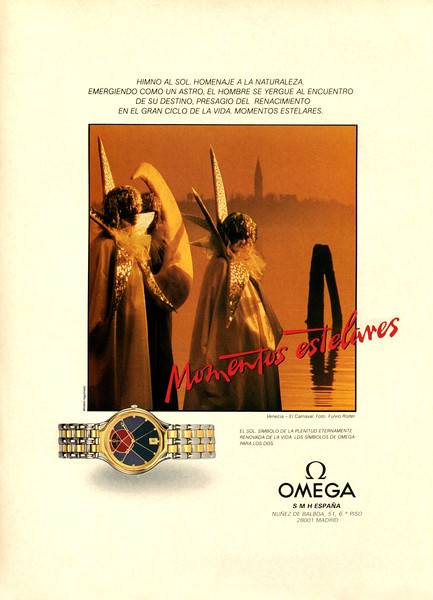 1987 OMEGA watches: Spain (Marie Claire)