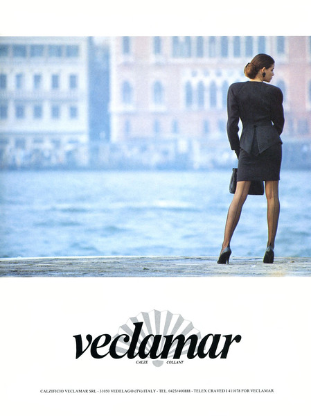 1990 VECLAMAR pantyhose Italy (Donna)