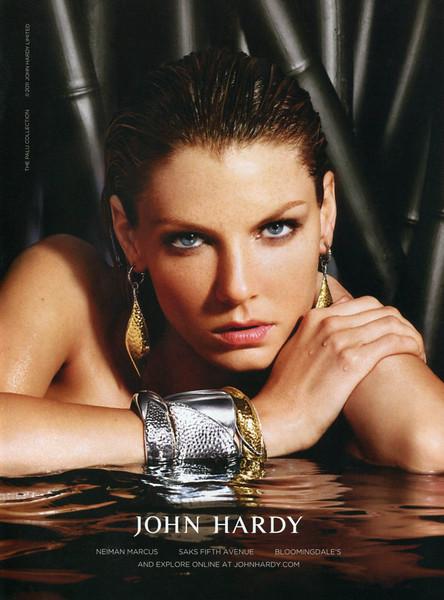 2011 JOHN HARDY jewelry US (Harper's Bazaar)  featuring Angela Lindvall