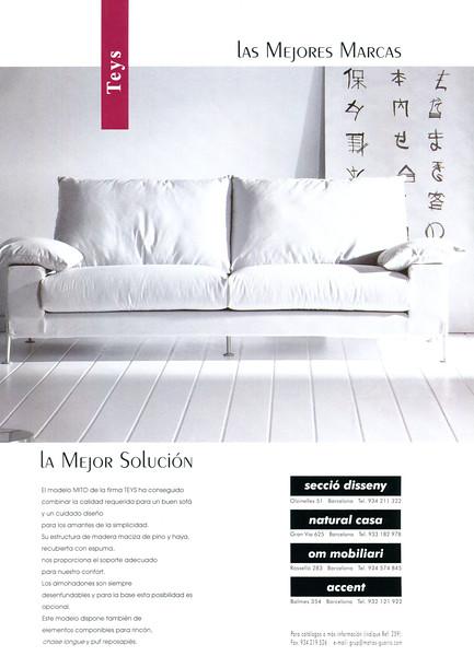 2000 TEYS furniture stores Spain (Casa Viva)