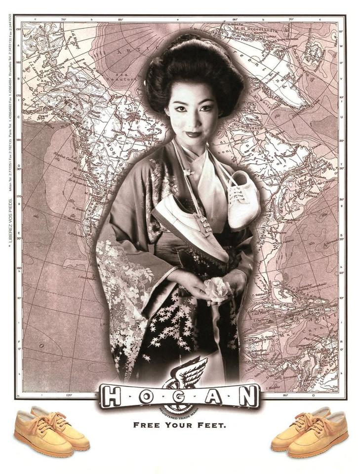 1997 HOGAN shoes France (Madame Figaro)