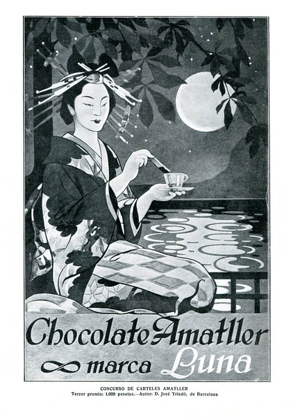 1914 AMATLLER chocolate Spain (Mundo Gráfico)