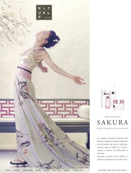 RITUALS The Ritual of Sakura 2016 Spain bis 2 'Celebra el despertar de un nuevo día'