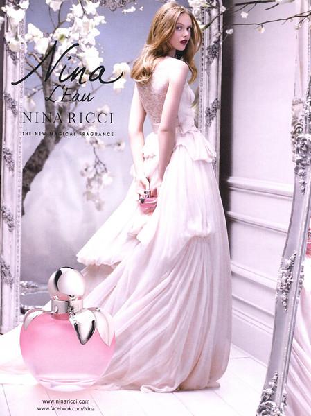 2013 RICCI Nina L'Eau fragrance Belgium