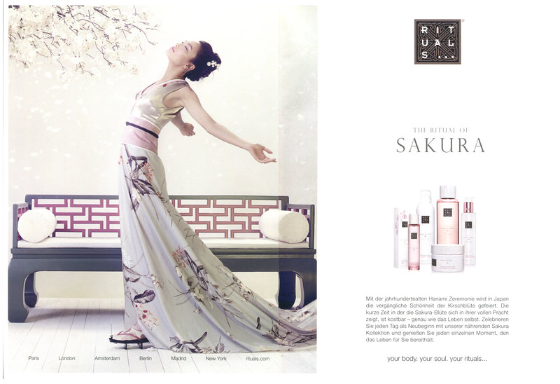 2016 RITUALS The Ritual of Sakura Germany (spread Glamour)