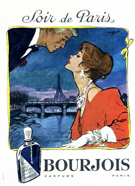 1959 BOURJOIS Soir de Paris perfume France