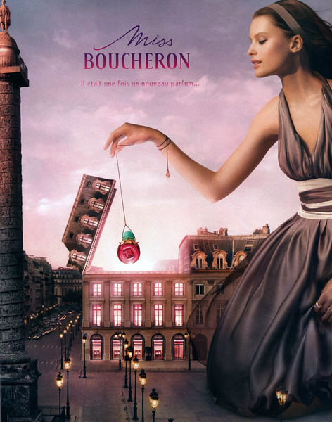 2007 Miss BOUCHERON fragrance Belgium