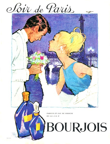 1963 BOURJOIS Soir de Paris fragrance France