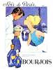 1963 BOURJOIS Soir de Paris fragrance France