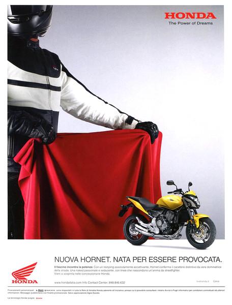 2011 HONDA Hornet motorcycle Italy (GQ)
