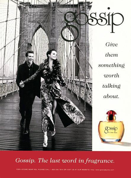 1997 COTY Gossip fragrance:: US