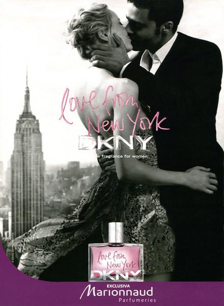 2010 DONNA KARAN DKNY Love from New York fragrance Spain (Marionnaud magazine)