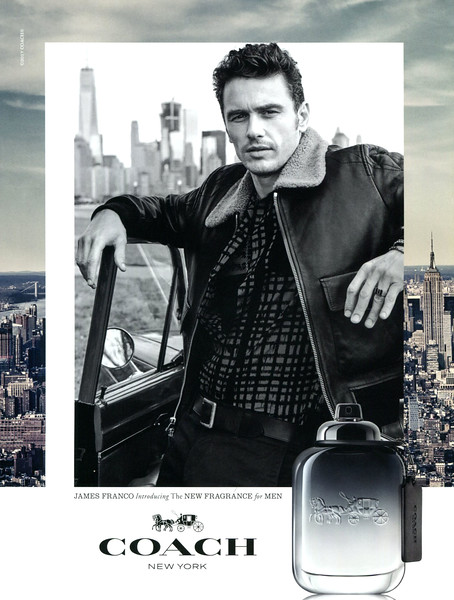 COACH for Men 2017 Hong Kong 'James Franco introducing the new fragrance for men'