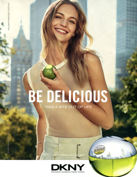 2017 DONNA KARAN DKNY Be Delicious fragrance Spain (Vogue)