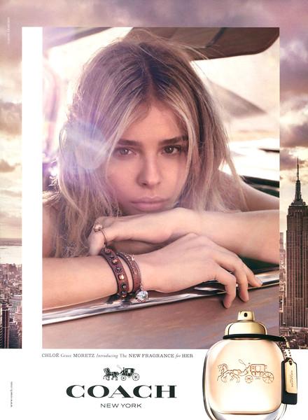2016 COACH The Fragrance Saudi Arabia-UAE (Sayidaty) featuring Chloé Grace Moretz
