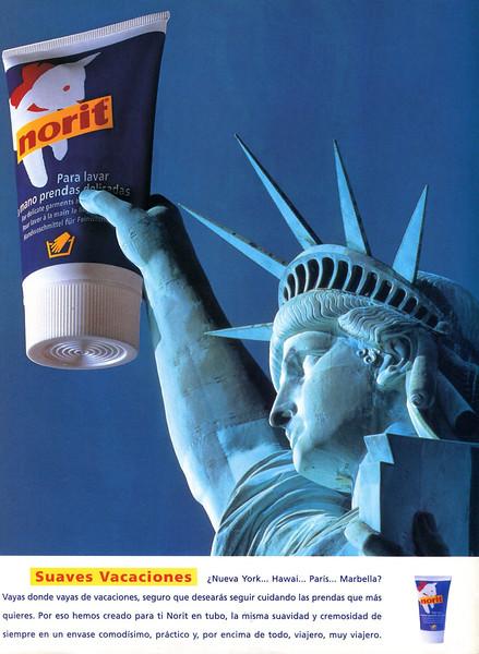 1998 NORIT detergent Spain (Elle)