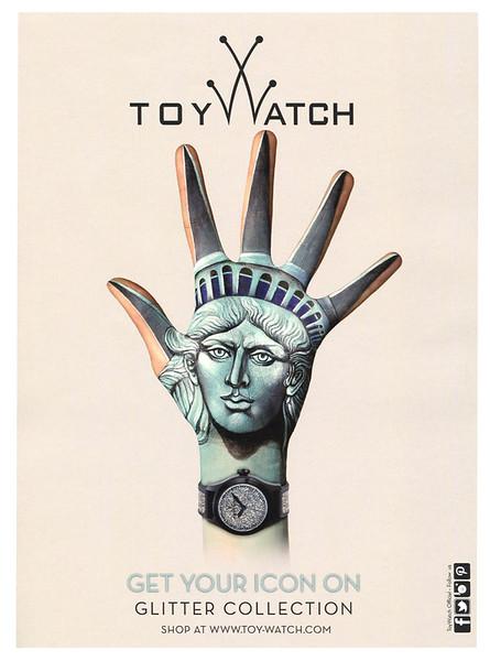 2013 TOY WATCH wrisrwatches Germany (Glamour)