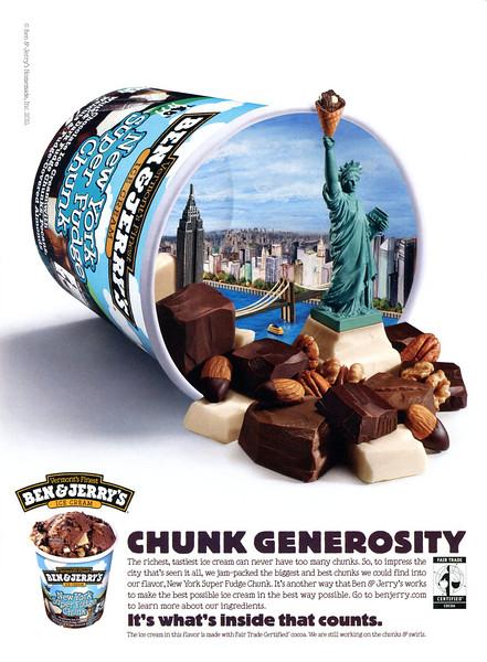 2011 BEN & JERRY ice cream US (Details)