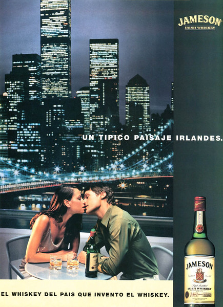 2001 JAMESON whiskey Spain (Marie Claire)