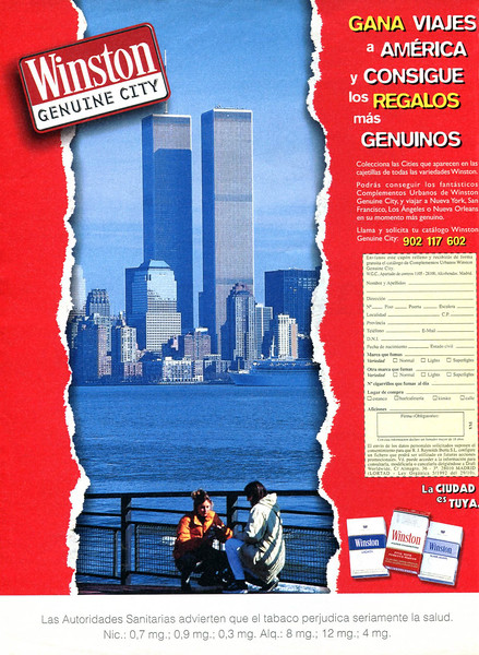 1998 WINSTON Spain (El País Semanal)