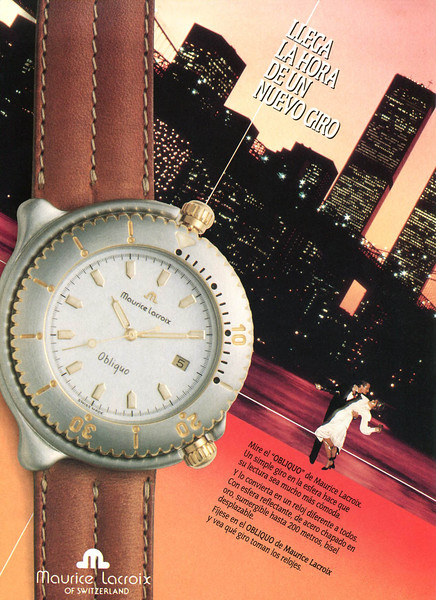 1989 MAURICE LACROIX watches Spain (Man)