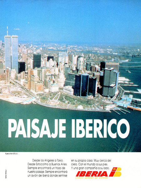 1991 IBERIA airlines Spain (La Vanguardia Magazine)