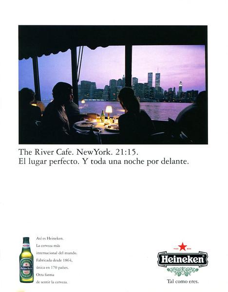 1995 HEINEKEN beer Spain (Cosmopolitan)