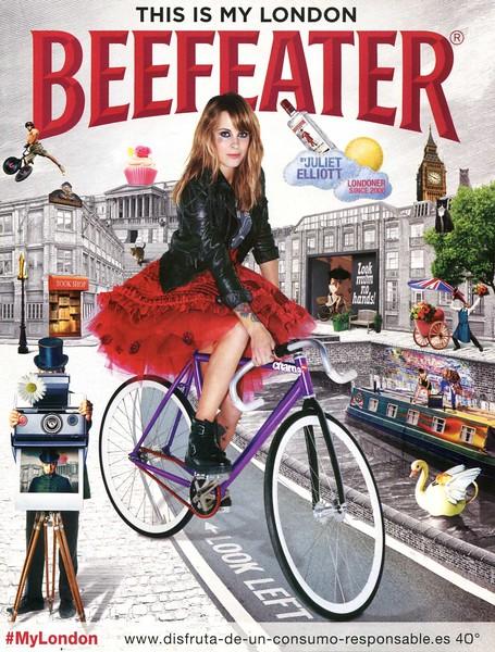2014 BEEFEATER London  gin: Spain (Hola Fashion)