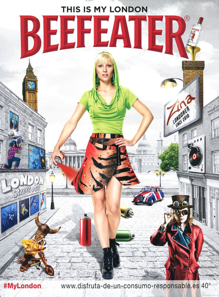 2013 BEEFEATER London gin Spain (Glamour)