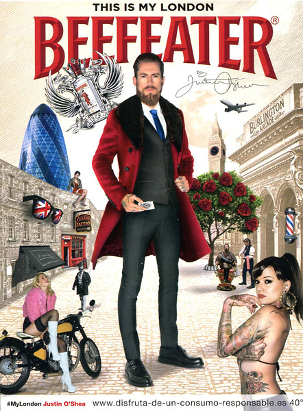 2012 BEEFEATER London gin Spain (Glamour)
