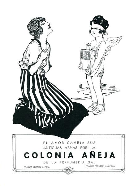 1921 GAL Colonia Aneja fragrance Spain  (Blanco y Negro)