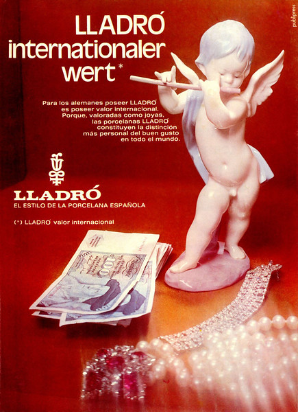 1975 LLADRÓ porcelain figurines Spain