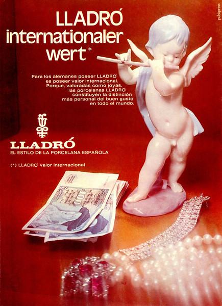 1975 LLADRÓ porcelain figurines Spain
