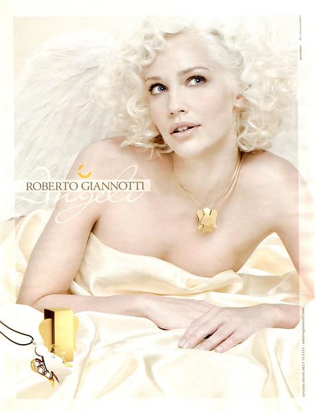 2011 ROBERTO GIANNOTTI Angeli jewelry collection Italy (Grazia)