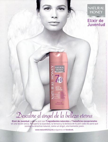 2012 NATURAL HONEY Elixir de Juventud body lotion Spain