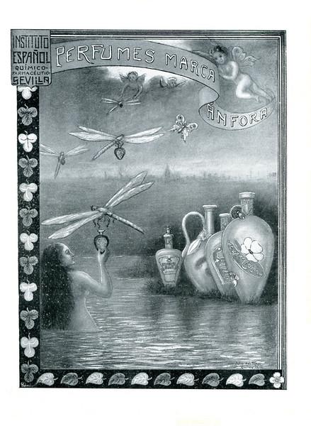 1914 ÁNFORA Perfumes Spain (Blanco y Negro)