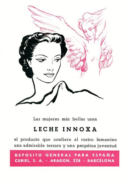 1951-1952 CURIELI nnoxa cream Spain (Liceu theatre programme)