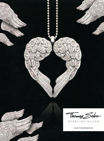2010 THOMAS SABO silver jewellery Germany (Cosmopolitan)