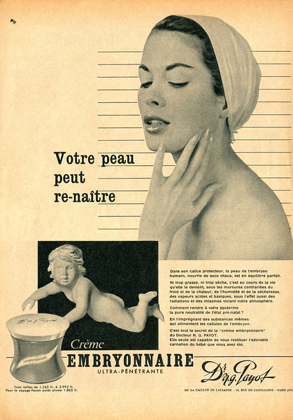 1957 PAYOTcosmetics France (Elle)