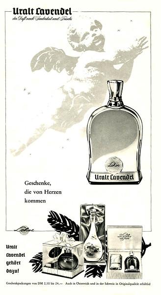 1959 LOHSE Uralt Lavendel cologne Germany