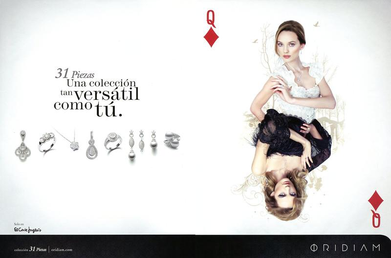 2010 ORIDAM jewellers Spain (spread Vogue)